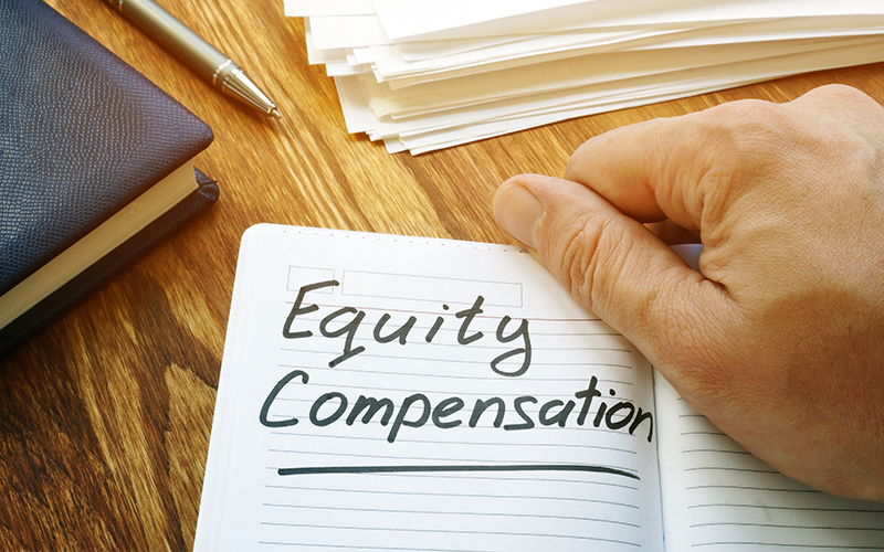 Tips for Incorporating Equity Compensation Image